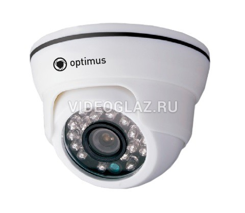 Компания «Видеоглаз» рекомендует 1 Мп видеокамеру AHD Optimus AHD-M021.0(3.6)E