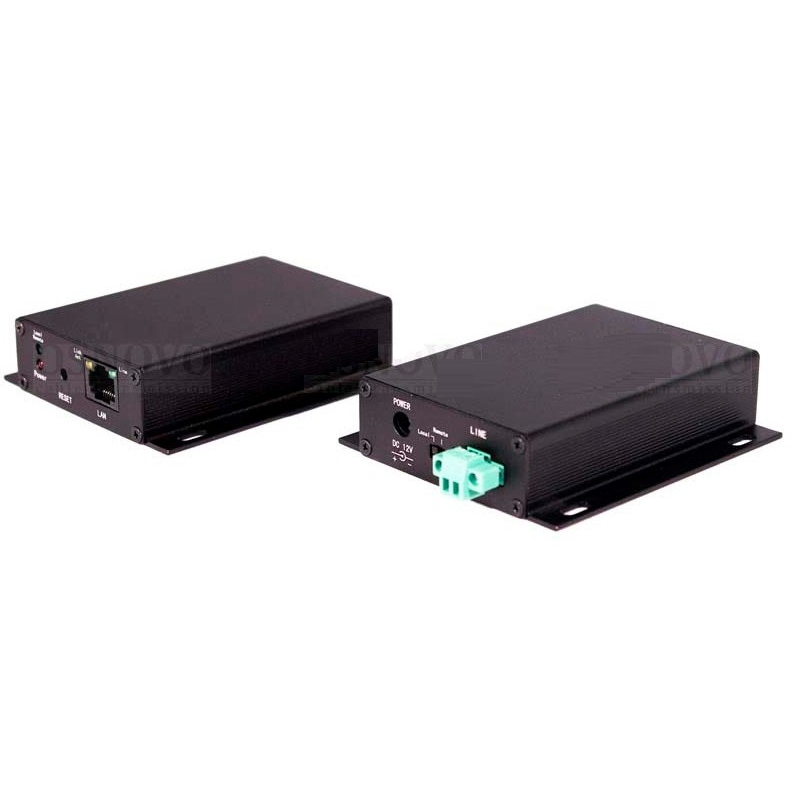 Удлинитель Ethernet сигнала OSNOVO OSNOVO TA-IP+RA-IP
