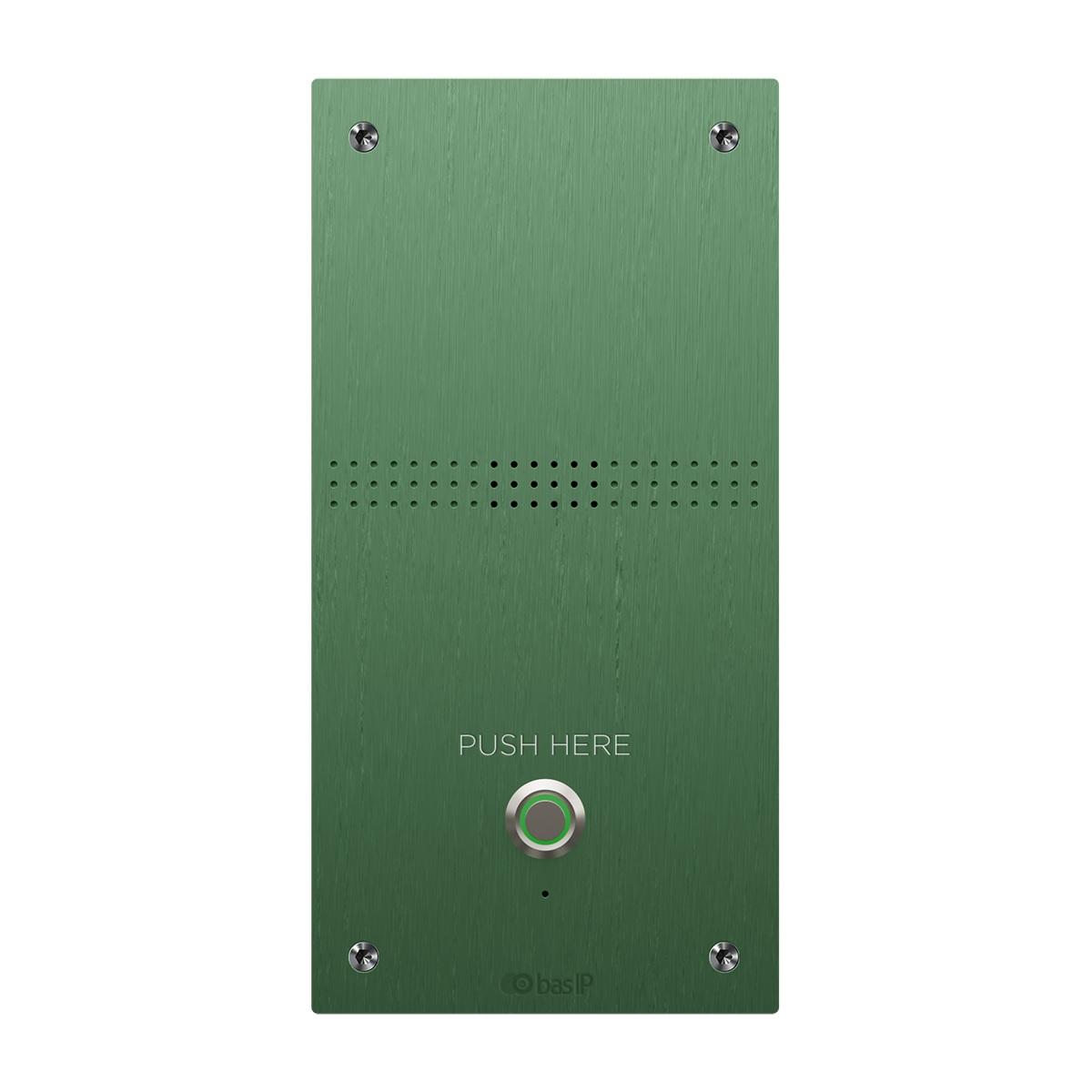 Вызывная панель IP-домофона BAS-IP BAS-IP AV-04AFD Green