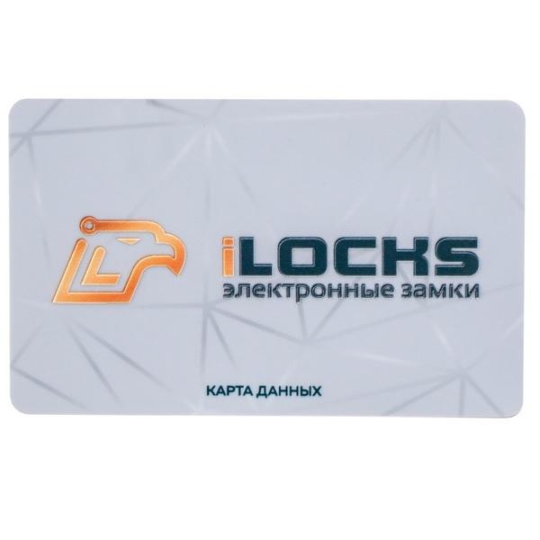 Карта iClass iLocks iLocks Карта RF S50 с логотипом