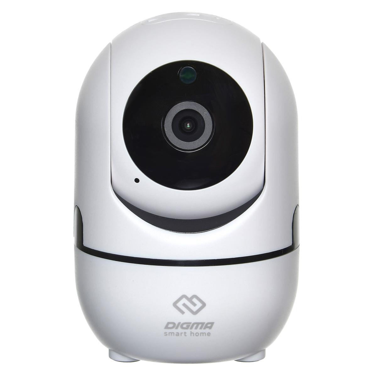 Поворотная Wi-Fi-камера DIGMA DIGMA DiVision 201 поворотная ip камера digma division 201 белый