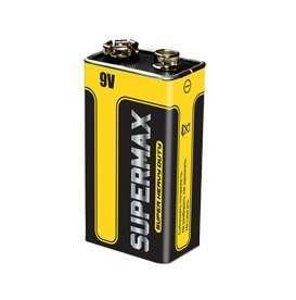 SuperMax Элемент питания солевой S 6F22 (уп.1шт) Supermax SUP6F22