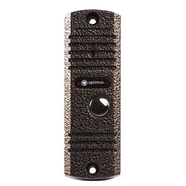 Фото - Вызывная панель на 1 видеодомофон Optimus Optimus DSH-E1080 (медь) вызывная панель на 3 видеодомофона optimus optimus dsh 1080 3 белый
