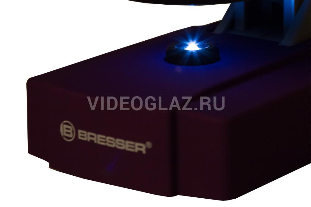 Микроскоп bresser junior синий по цене руб купить