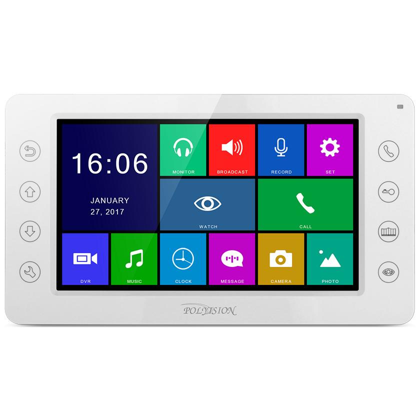 Монитор видеодомофона Polyvision Polyvision PVD-07S-HD v.8.2