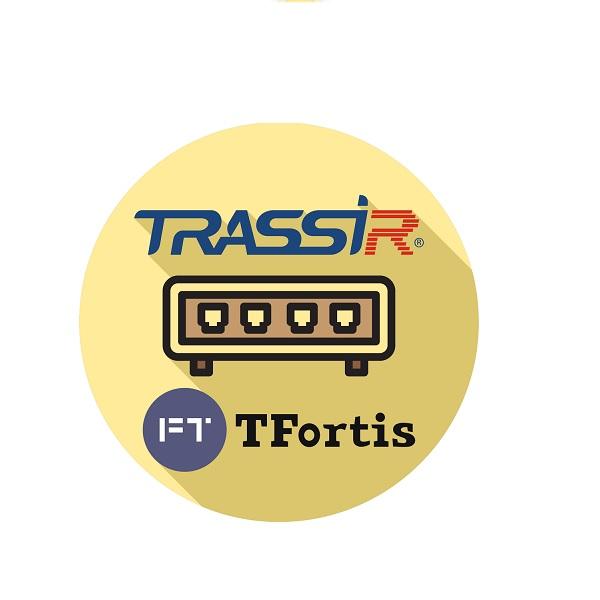 ПО для IP видеокамер и IP видеосерверов TRASSIR TRASSIR TFortis(server)
