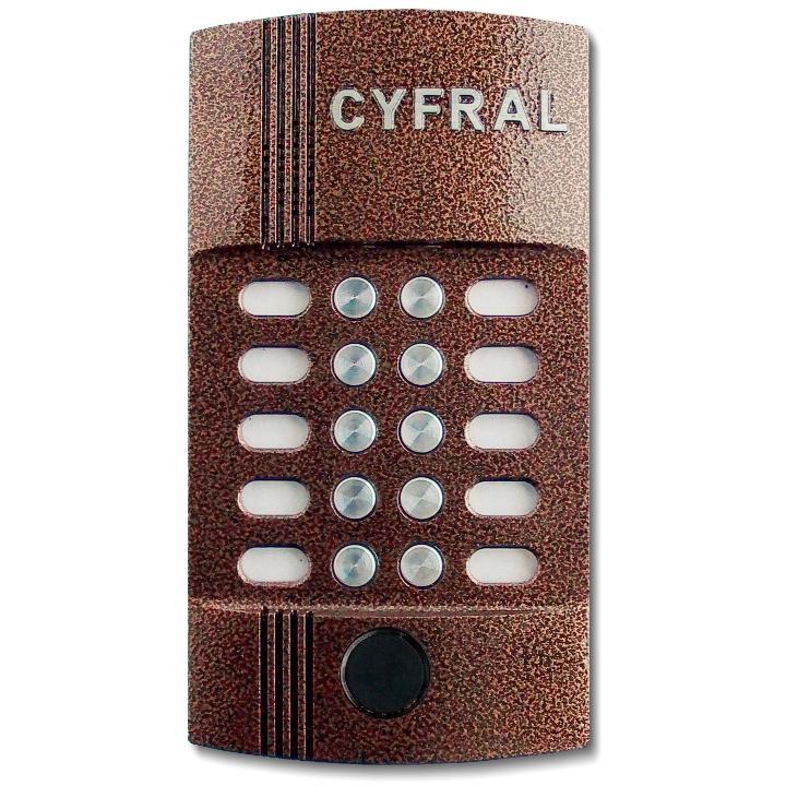 Вызывная панель аудиодомофона Цифрал M-10M/P