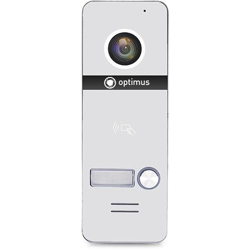 Фото - Вызывная панель на 1 видеодомофон Optimus Optimus DSH-1080/1 (белый) вызывная панель на 3 видеодомофона optimus optimus dsh 1080 3 белый