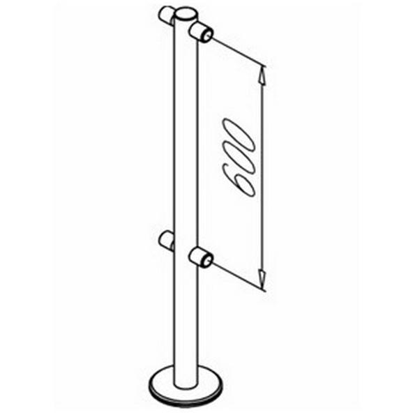 Дополнительный элемент для ограждения OMA OMA-04.361.C0