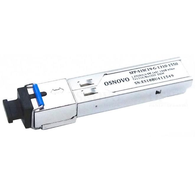 SFP-модуль OSNOVO SFP-S1SC19-G-1310-1550