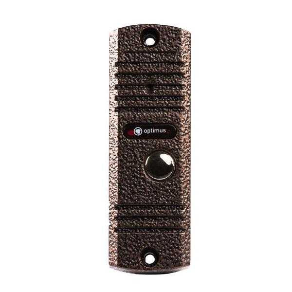 Фото - Вызывная панель видеодомофона Optimus Optimus DS-700L(медь) вызывная панель на 3 видеодомофона optimus optimus dsh 1080 3 белый