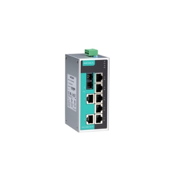 Коммутаторы до 100Mbps MOXA MOXA EDS-208A-M-SC