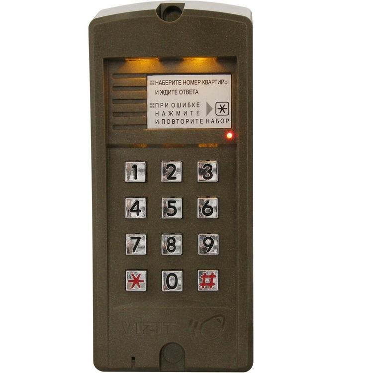 VIZIT БВД-310R Вызывная панель аудиодомофона - ТД ВИДЕОГЛАЗ Москва