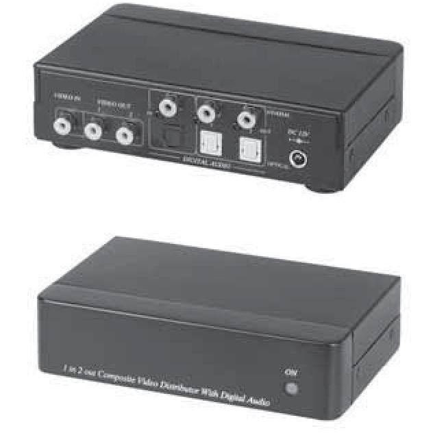 Распределитель видео и аудиосигнала SC&T SC&T CD02D