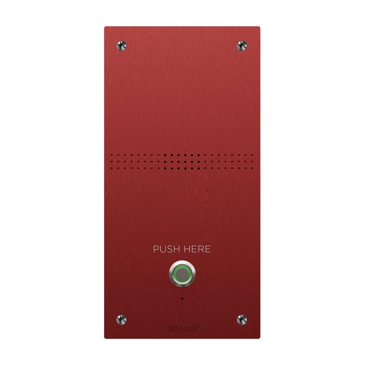 Вызывная панель IP-домофона BAS-IP BAS-IP AV-04AFD Red