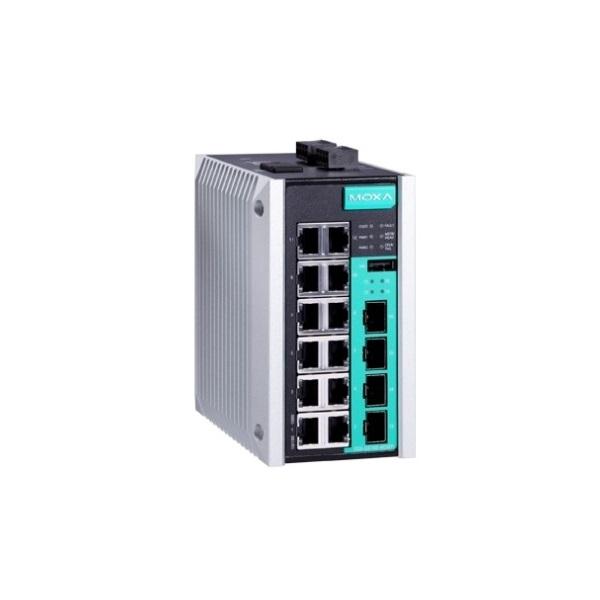 Коммутаторы до 1000Mbps MOXA MOXA EDS-G516E-4GSFP-T