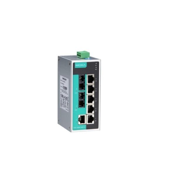 Коммутаторы до 100Mbps MOXA MOXA EDS-208A-MM-SC