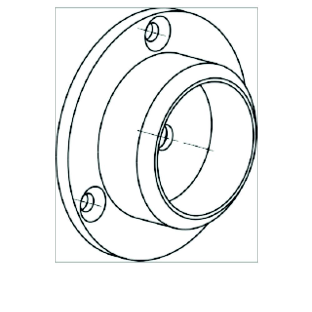 Дополнительный элемент для ограждения Oxgard Oxgard Фланец-втулка(ВЗР 1702-002)