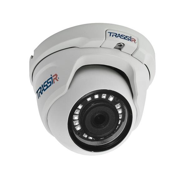 TRASSIR TR-D8141IR2(2.8 мм) Купольная IP-камера - ТД ВИДЕОГЛАЗ Москва