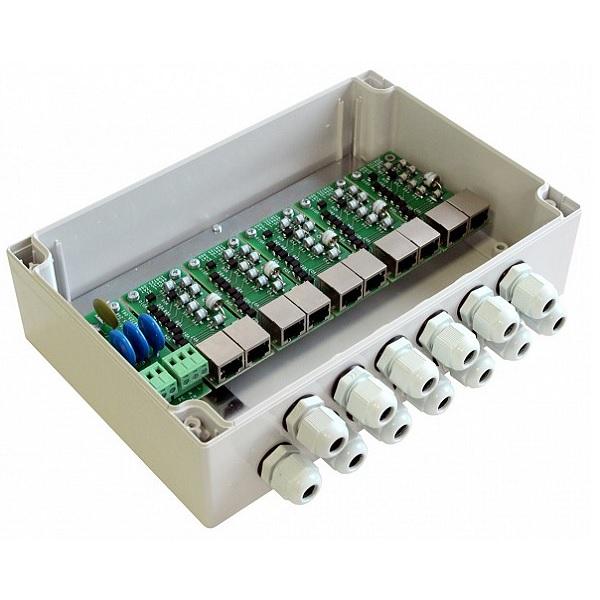 Грозозащита цепей управления и IP-сетей Форт-Телеком Форт-Телеком Блок грозозащиты TFortis SG