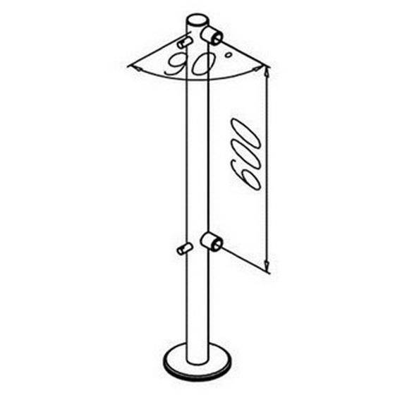 Дополнительный элемент для ограждения OMA OMA-04.561.BR