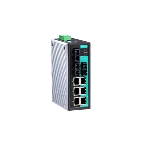 Коммутаторы до 100Mbps MOXA MOXA EDS-309-3M-SC-T
