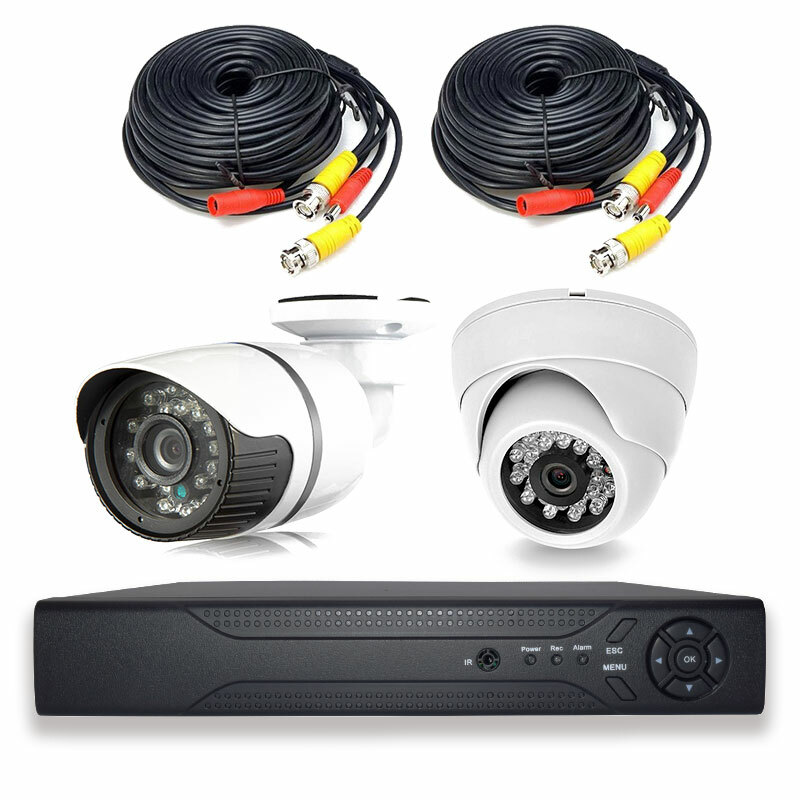 Готовый комплект видеонаблюдения PS-Link PS-Link KIT-B202HD