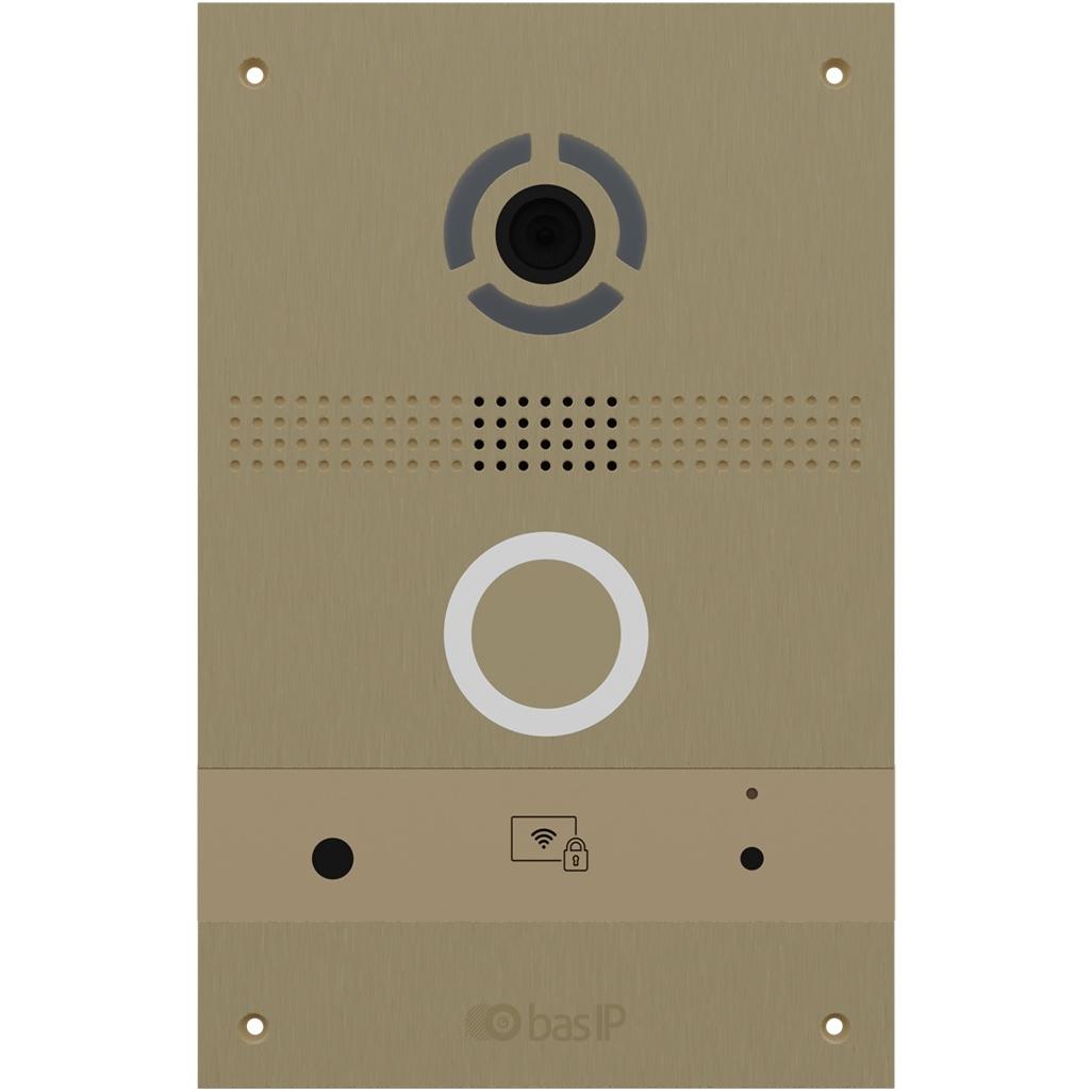 Вызывная панель IP-домофона BAS-IP BAS-IP AV-08FB Gold