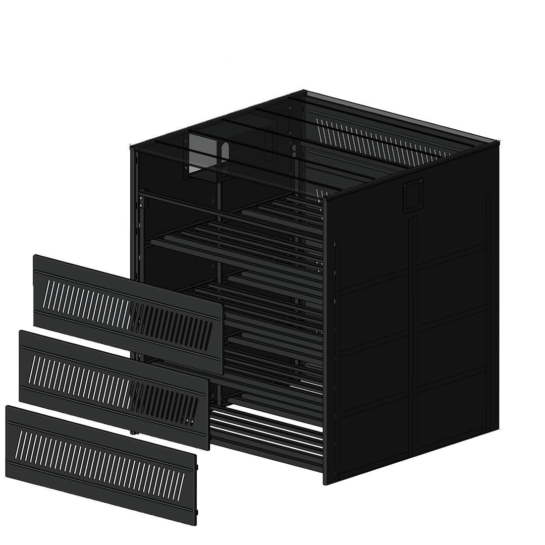 Дополнительное оборудование к аккумуляторам SVC SVC BC C-50 шкафы