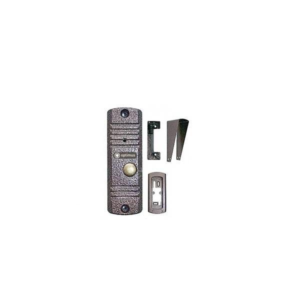 Фото - Вызывная панель видеодомофона Optimus Optimus DS-700(медь) вызывная панель на 3 видеодомофона optimus optimus dsh 1080 3 белый