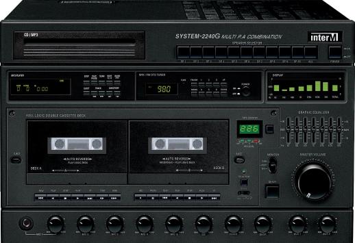Микшер-усилитель Inter-M SYS-2240G