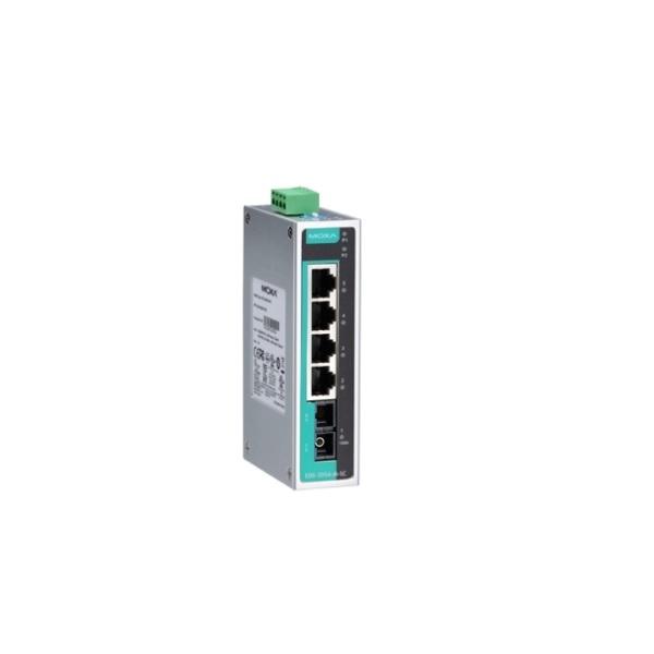 Коммутаторы до 100Mbps MOXA MOXA EDS-205A-S-SC