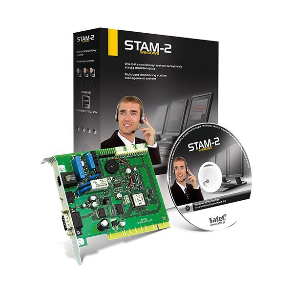 Фото - ОПС Satel Satel Satel STAM-2 BT опс satel satel satel stam 1 r