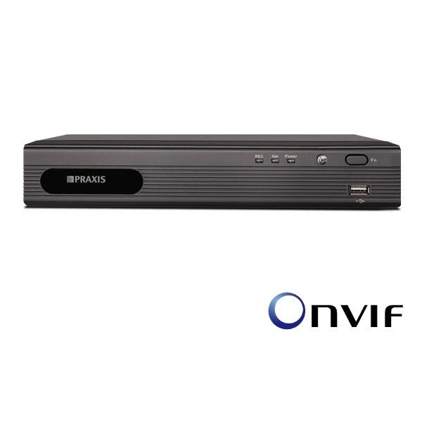 IP Видеорегистратор (NVR) Praxis Praxis VDR-8104IP ip видеорегистратор nvr praxis praxis vdr 8832ip