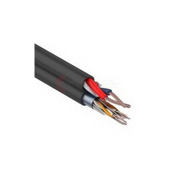 Фото - Кабель комбинированный REXANT REXANT Мульти-кабель FTP 4PR 24AWG CAT5e + 2х0.75мм²., 200м., черный, OUTDOOR (01-4044) кабель ethernet rexant rexant кабель ftp 4pr 23awg cat6 305м zh нг а hf 01 0151