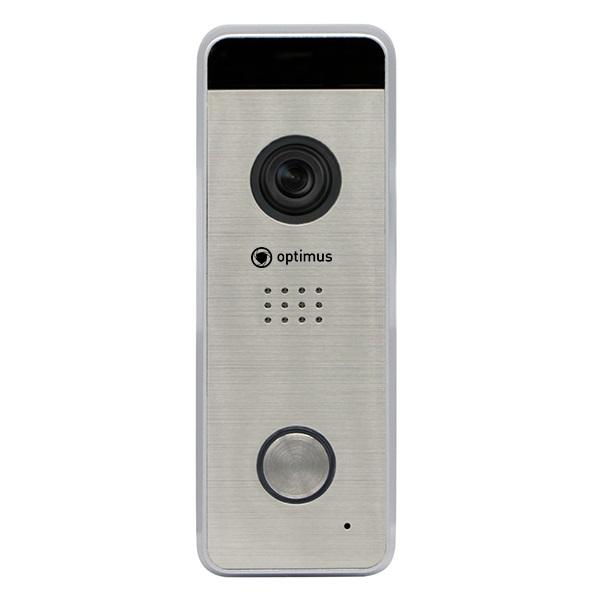 Фото - Вызывная панель на 1 видеодомофон Optimus Optimus DSH-1080_v.1(серебро) вызывная панель на 3 видеодомофона optimus optimus dsh 1080 3 белый