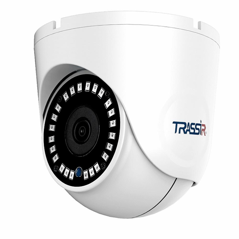 TRASSIR TR-D8122ZIR2 Купольная IP-камера - ТД ВИДЕОГЛАЗ Москва