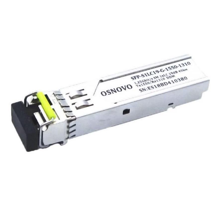 SFP-модуль OSNOVO SFP-S1LC19-G-1550-1310