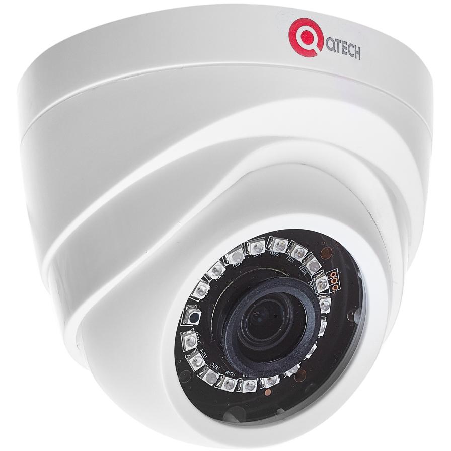 Купольная IP-камера QTECH QTECH QVC-IPC-202EL (2.8)