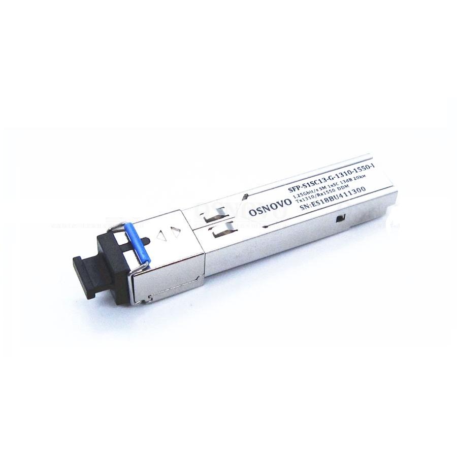 SFP-модуль OSNOVO OSNOVO SFP-S1SC13-G-1310-1550-I