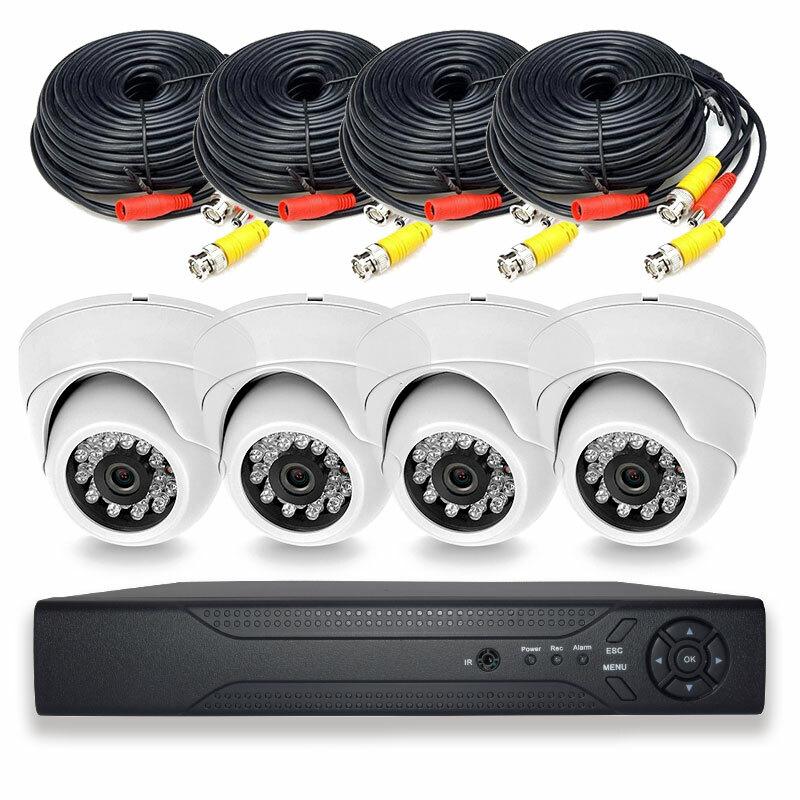 Готовый комплект видеонаблюдения PS-Link PS-Link KIT-A504HD