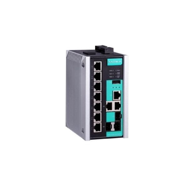 Коммутаторы до 1000Mbps MOXA MOXA EDS-510E-3GTXSFP-T