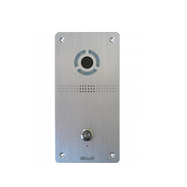 BAS-IP AV-04FD SILVER Вызывная панель IP-домофона - ТД ВИДЕОГЛАЗ Москва