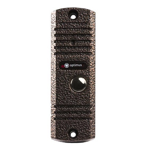Фото - Вызывная панель на 1 видеодомофон Optimus Optimus DSH-E1080 (серебро) вызывная панель на 3 видеодомофона optimus optimus dsh 1080 3 белый