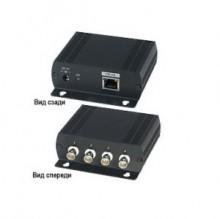 Передатчик ip-видеосигнала по коаксиальному кабелю SC&T SC&T IP01H передатчик ip видеосигнала по коаксиальному кабелю evidence evidence cross 1 rg hpoe